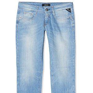 Women's jeans slim waist